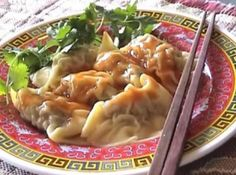 Chinese Dumplings Part 1 - Dough Making Recipe Video by wantanmien   ifood.tv