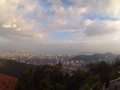 This view was taken on the top of Bukit Bendera or well known as Penang Hill.It can be access using car/bike,kereta kabel and also by tracking - Penang Hill
