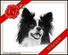 Custom #pet portraits hand drawn from  the photos you supply to me. Lifelike, highly detailed, reasonably priced & satisfaction guarentee. A great #Christmas #gift #idea for any #petparent http://www.gensart.net
