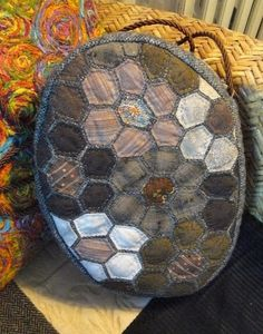 yoko saïto,saito,patchwork,quilt,quilting,taupe,tissus,fabrics,sac,bag