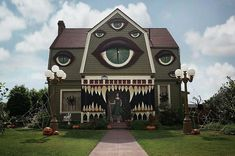 These homes' Halloween decorations will haunt your dreams—check them out to see just how outrageous and over-the-top they can get.