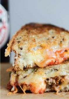 Spicy Mini Meatball Grilled Cheese – Kick your day up a notch with this sandwich recipe.
