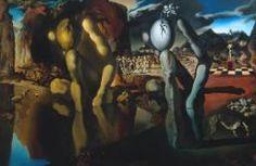 La métamorphose de Narcisse, 1937, Dali, huile sur toile.