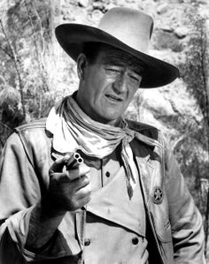 John Wayne- loved falling asleep on daddy watching these movies when I was little