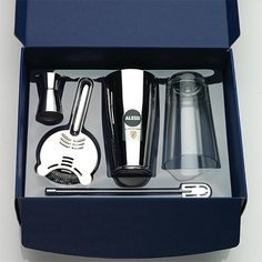 5050 Il Bar Boston Shaker Gift Set by Alessi