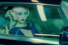 Vogue Italia - Pink hair