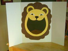 Lion Bean Bag Toss - Daniel and the Lions
