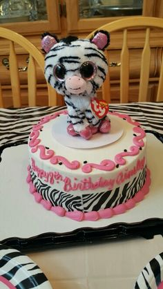 Beanie Boo Cake Speckles Cakes My Original Designs