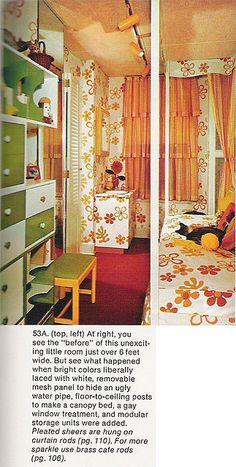 Teens room 1970