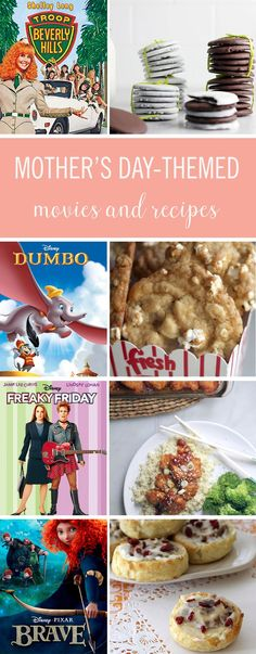 Spend the day watching some of your favorite Mother's Day movies, Disney classics included, while enjoying recipes inspired by the films. It's the perfect Mother's Day family activity!