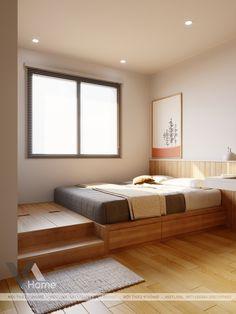 Small Room Design Bedroom, Home Room Design, Home Decor Bedroom, Home Interior Design, Small Apartment Interior, Apartment Design, Japanese Style Bedroom, Home Decor Shelves, Minimalist Bedroom