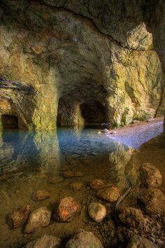 Polar Caves Park In New Hampshire S White Mountains Part