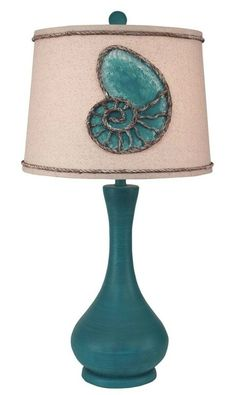 Beach Cottage Nautilus Table Lamp