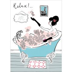 Relax - Greetings Card Phoenix Trading £1.75 each or £1.40 when buying 10 or more. #CarolinesCardsandStationery #CarolineStokleIndependentPhoenixTrader