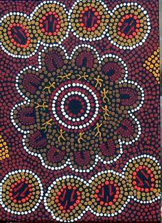 Google Afbeeldingen resultaat voor http://www.aboriginalartdirectory.com/artists/art-artworks/aad-jwr-no342-kangaroo-corroboree.jpg