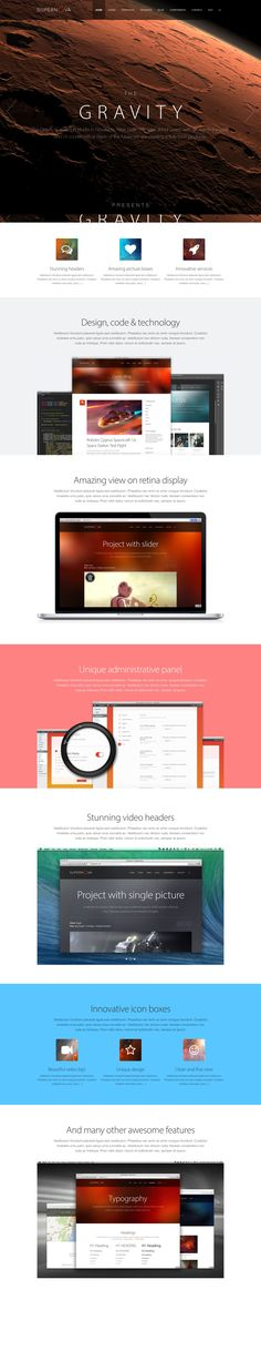 Supernova - WordPress Theme