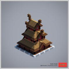 2017 ChunkWorld (Redux) - Nordic temple