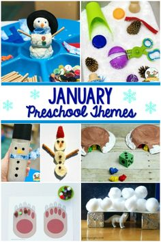 January Preschool Themes - Pre-K Pages