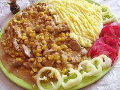 Györgyiségek : Tejszínes kukoricás sertéscomb recept