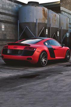 Audi R8 Red Performance