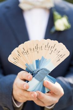 Easily found at any craft or office supply store, tongue depressors become charming ombre escort cards when dipped in varying shades of blue paint. Wedding Pins, On Your Wedding Day, Wedding Details, Wedding Ideas, Wedding Stuff, Wedding Decorations, Wedding Reception, Destination Wedding Inspiration, Reception Table