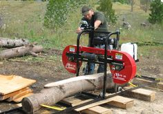 HUD-SON HFE21 Homesteader portable sawmill