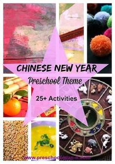 Chinese New Year Preschool Theme: Find 25+ activities on this theme page to cover all of your interest learning centers!