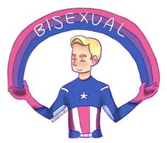 Bisexual Steve Rogers: An analysis<<<< Probably my favorite Buzzfeed article.<<< beautiful
