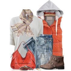 VESTS FOR FALL, created by tufootballmom on Polyvore