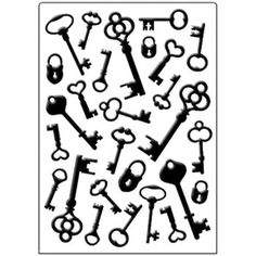 Crafts-Too Embossing Folder Keys