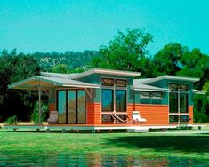 An Eco-Cottage. 513 sq ft of 'green living.' I'm totally into the concept. The architecture is really interesting.