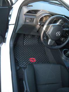 Items Similar To Scion Tc Xb Frs Floor Shield Mats Custom Shaped Diamond Plate Aluminum Emblem And Color Options Bold Looks Ultra Durable On Etsy