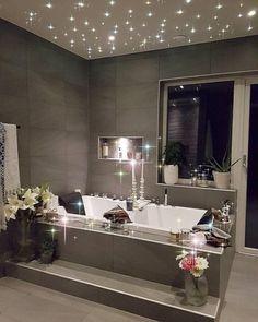 My dream bathroom! Romantic Bathrooms, Dream Bathrooms, Beautiful Bathrooms, Fancy Bathrooms, Decoration Inspiration, Bathroom Inspiration, Decor Ideas, Douche Design, Interior Decorating