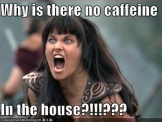 HAHAHA. I bet this is how we look when we don't have coffee....