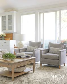 Recamier: know what it is and how to use it in decoration with 60 ideas - Home Fashion Trend Beach House Furniture, Beach House Decor, Home Furniture, Chic Beach House, Beach Condo, Coastal Living Rooms, Living Room Decor, Living Area, Bedroom Decor