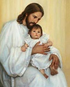 """Jesus With Children Wallpapers - Set 10 We all know that Jesus loved children very much. The Bible passage referring to this is Mark --- """"Let the little children come to me, and do not hinder them"""