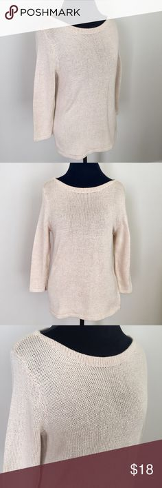 Polo Ralph Lauren Cream Knit Sweater Cream Lauren Ralph Lauren Knit Sweater in size medium. Excellent condition with no flaws. ⚓️No trades or holds. I accept reasonable offers. I only negotiate through the offer button. I do not model. I ship within two business days of your order. I only use Posh. 🚭🐩 Lauren Ralph Lauren Sweaters Crew & Scoop Necks