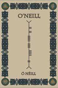 Ogham - ancient Irish written language