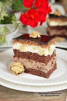 ciasto ambasador   Domowy Smak Jedzenia .pl Lemon Cheesecake Recipes, Chocolate Cheesecake Recipes, Keto Cheesecake, Breakfast Menu, Sweets Cake, Cake Icing, Food Inspiration, Creme, Food And Drink