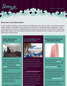 Email Newsletter Designs #11