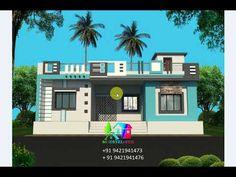 House Front Wall Design, House Balcony Design, House Arch Design, Single Floor House Design, Modern Small House Design, Village House Design, House Design Photos, Front Elevation Designs, House Elevation