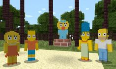 Brace yourselves as the most popular family in tv history are on their way to #minecraft in a brand new skin pack, the family will also be joined by 19 other characters from the amazing cartoon. For more information be sure to check out http://nextgenminecraft.com