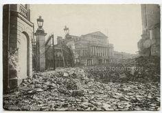 Warszawa zniszczona - Warsaw destroyed