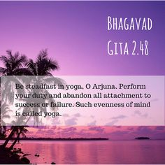 Words from the Bhagavad Gita