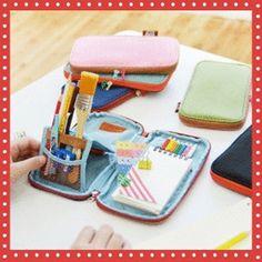 Gmarket - [하이모리] Pencil box / Pencil case ~ look at the adorable standing-up bit! I love it!
