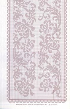 Rectangular tablecloth with flowers