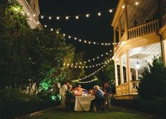 Twinkle Lights - A Bastille Day-Themed Party by Tara Guerard - Photos