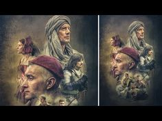 Advance Photoshop Manipulation | Movie Poster Texture Effects Part1 - YouTube
