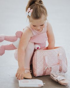 Flo Dancewear creates girl's clothing inspired by ballet and dance. Using super-soft fabrics your little ballerina will love wearing. Sizes 3 - 7 years. Ballet Bag, Ballet Dancers, Ballet Shoes, Little Ballerina, Dance Wear, Soft Fabrics, Girl Outfits, Tights, Slippers