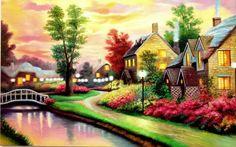 beautiful-village-wide-wallpaper-514876 (54 pieces)